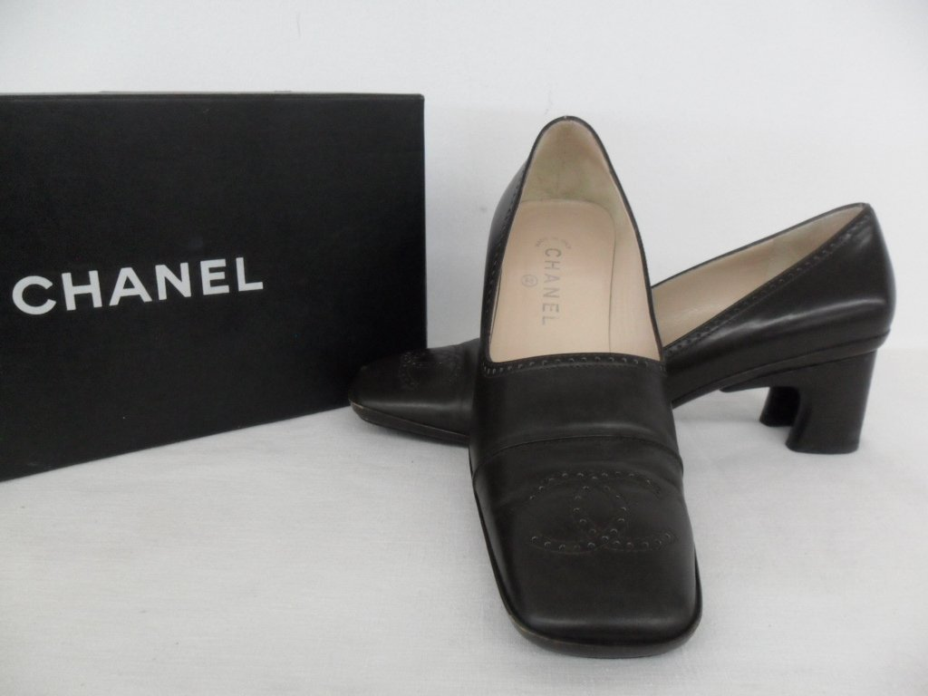11 PR VINTAGE DESIGNER SHOES INCL. CHANEL, PICCONE, - 9
