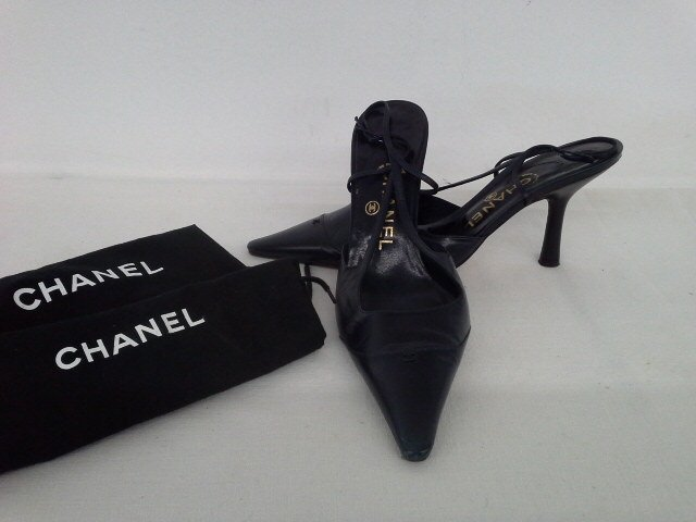 14 PR VINTAGE DESIGNER SHOES INCL. CHANEL, CHOO, ROSSI, - 10