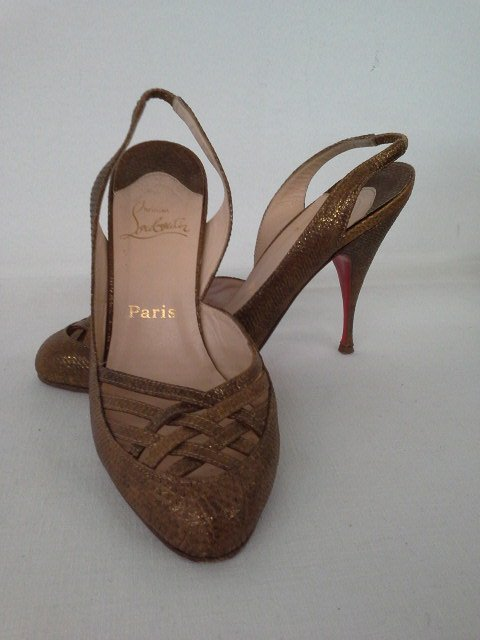 14 PR VINTAGE DESIGNER SHOES INCL. CHANEL, CHOO, ROSSI, - 2