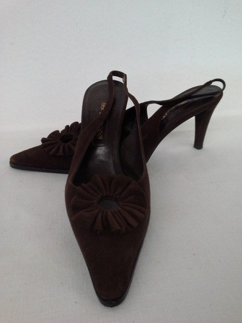 14 PR VINTAGE DESIGNER SHOES INCL. CHANEL, CHOO, ROSSI, - 4