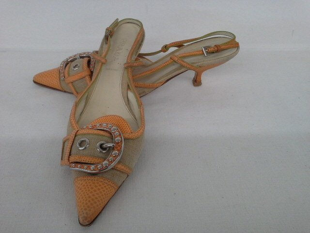 14 PR VINTAGE DESIGNER SHOES INCL. CHANEL, CHOO, ROSSI, - 6