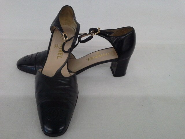 14 PR VINTAGE DESIGNER SHOES INCL. CHANEL, CHOO, ROSSI, - 9