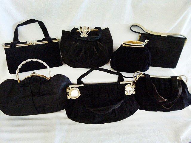 LOT (7) VINTAGE EVENING BAGS