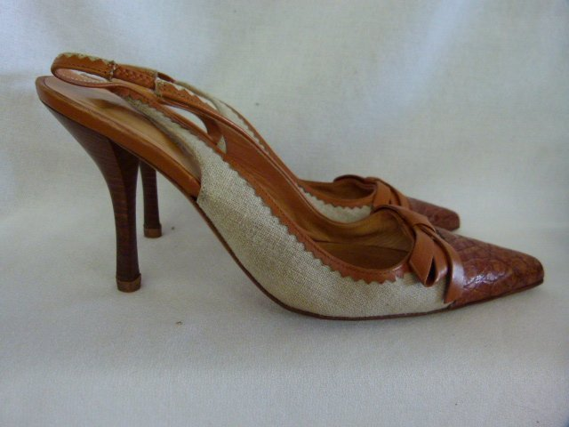 7 PR VINTAGE DESIGNER SHOES INCL. CHANEL, PRADA, - 4