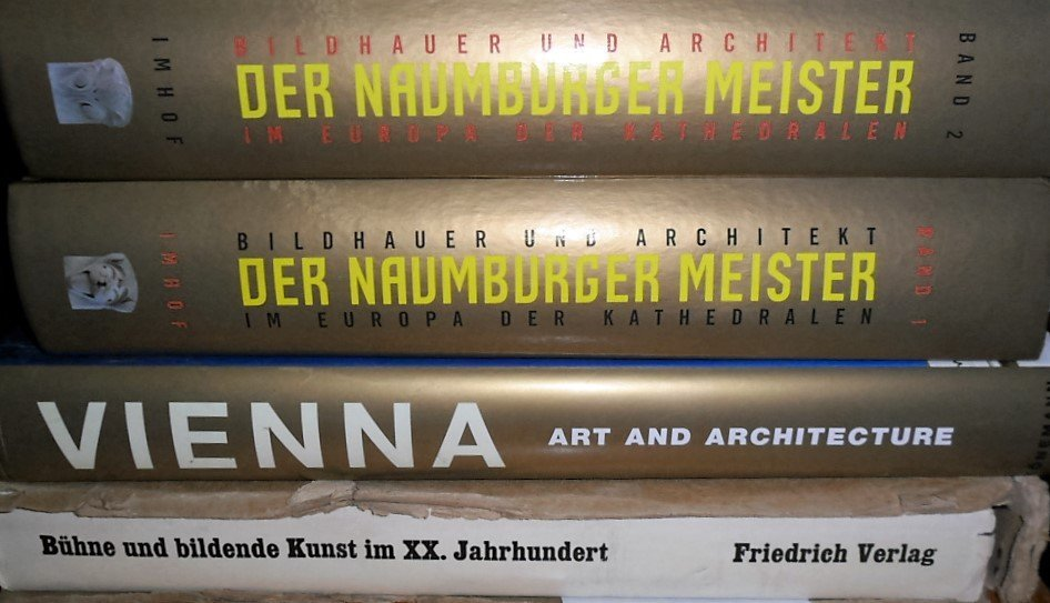 LOT (4) ARCHITECTURE INCL. DER NAUMBURGER, VIENNA BUHNE