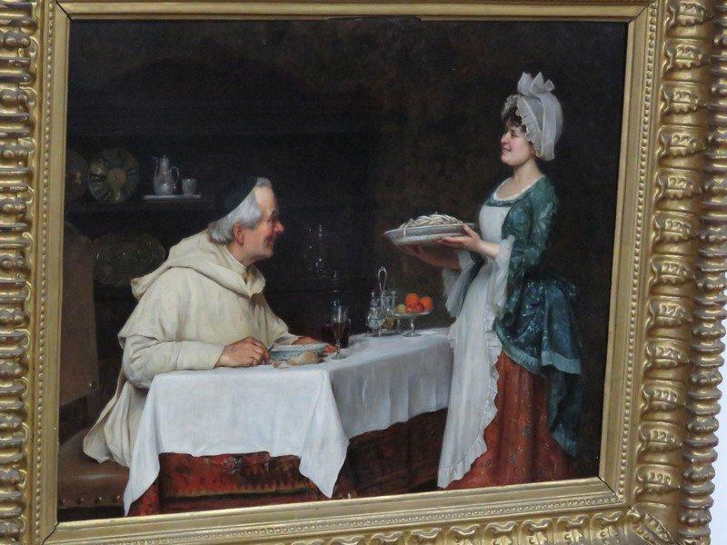 "O/C ""THE PASTA DINNER"" A. SANI (ALESSANDRO 1856-1927) - 2"