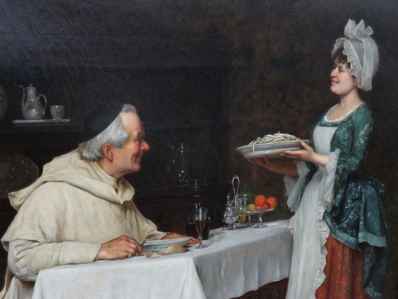 "O/C ""THE PASTA DINNER"" A. SANI (ALESSANDRO 1856-1927) - 3"