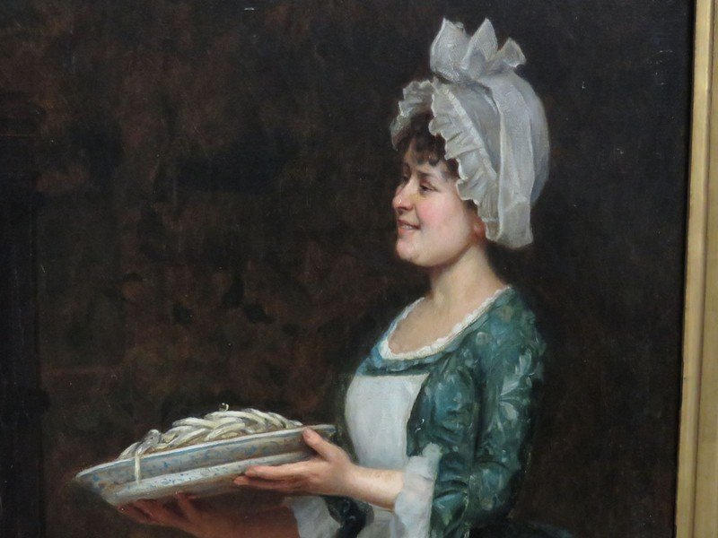 "O/C ""THE PASTA DINNER"" A. SANI (ALESSANDRO 1856-1927) - 5"