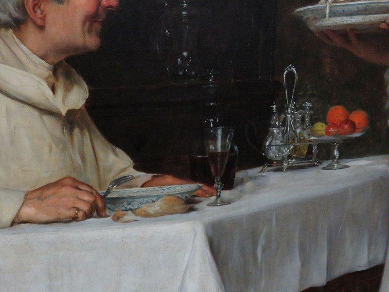 "O/C ""THE PASTA DINNER"" A. SANI (ALESSANDRO 1856-1927) - 6"