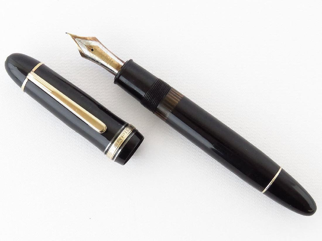 FINE MONTBLANC MASTERPIECE FOUNTAIN PEN 4810 14KT NIB