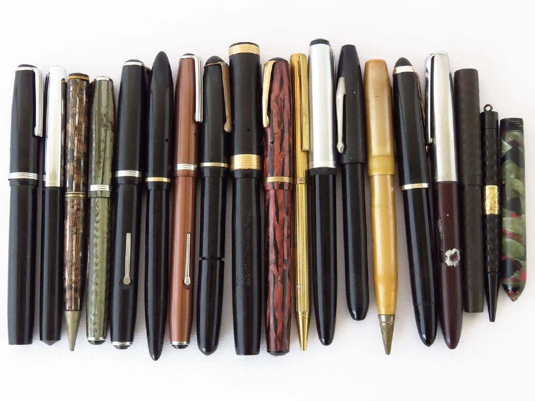 LOT ASSORTED VINTAGE FOUNTAIN PENS