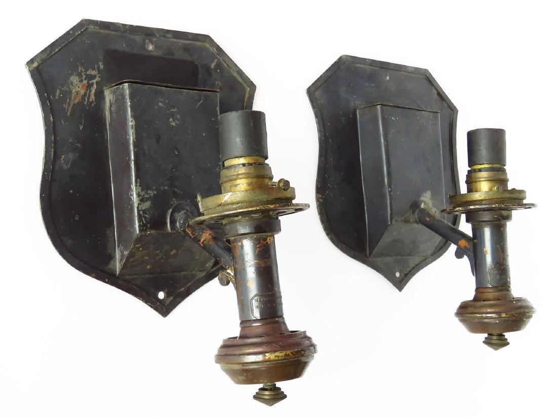 PR. H N HOPPER & CO. TOLEWARE LAMPS  BOSTON MASS. 19TH