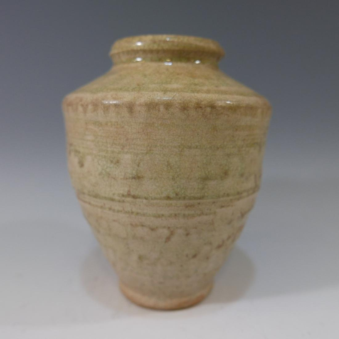 CHINESE ANTIQUE POTTER JAR - HAN DYNASTY