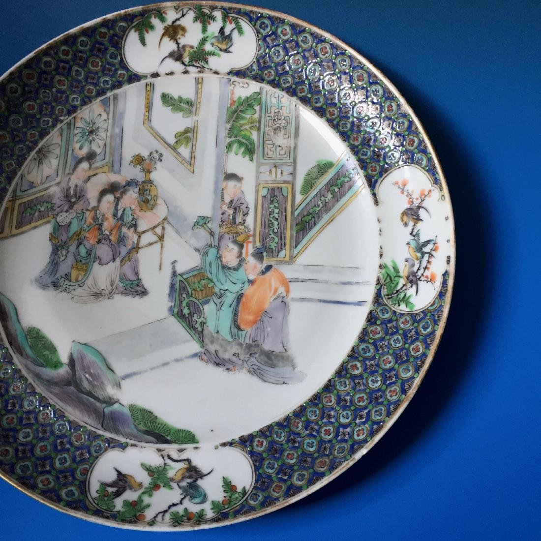 A BEAUTIFUL CHINESE ANTIQUE PLATE,19C. - 3