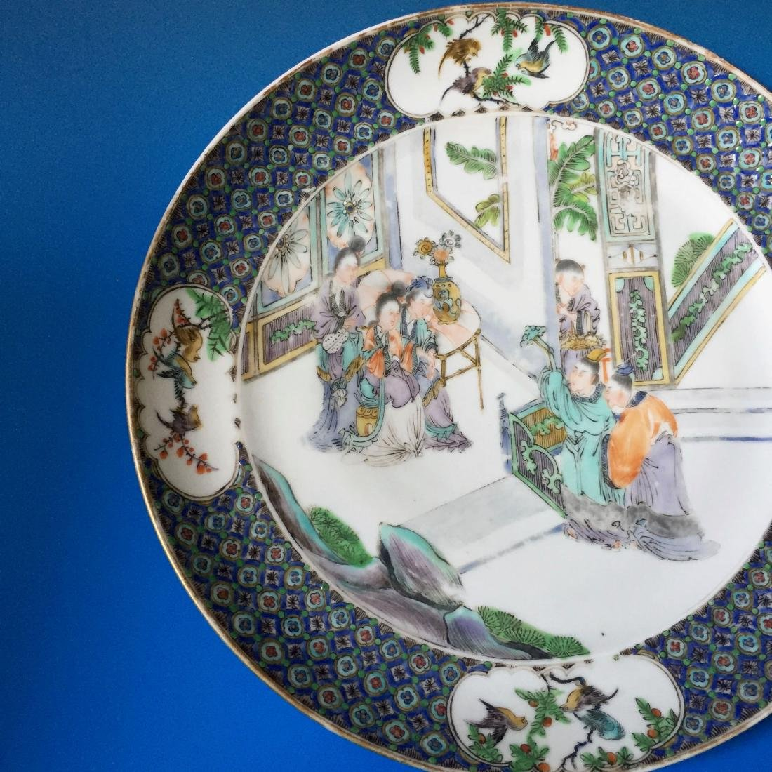 A BEAUTIFUL CHINESE ANTIQUE PLATE,19C. - 4