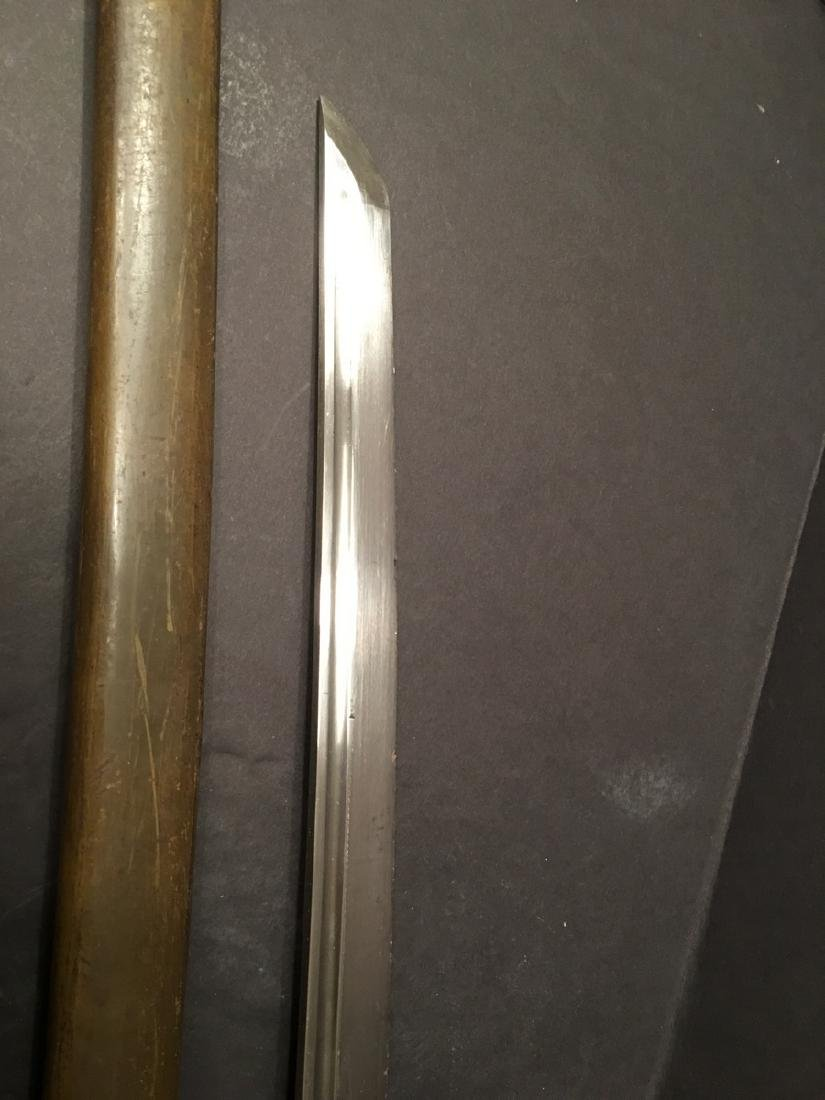 """OLD Japanese WWII Sword, 36"""" long - 8"""