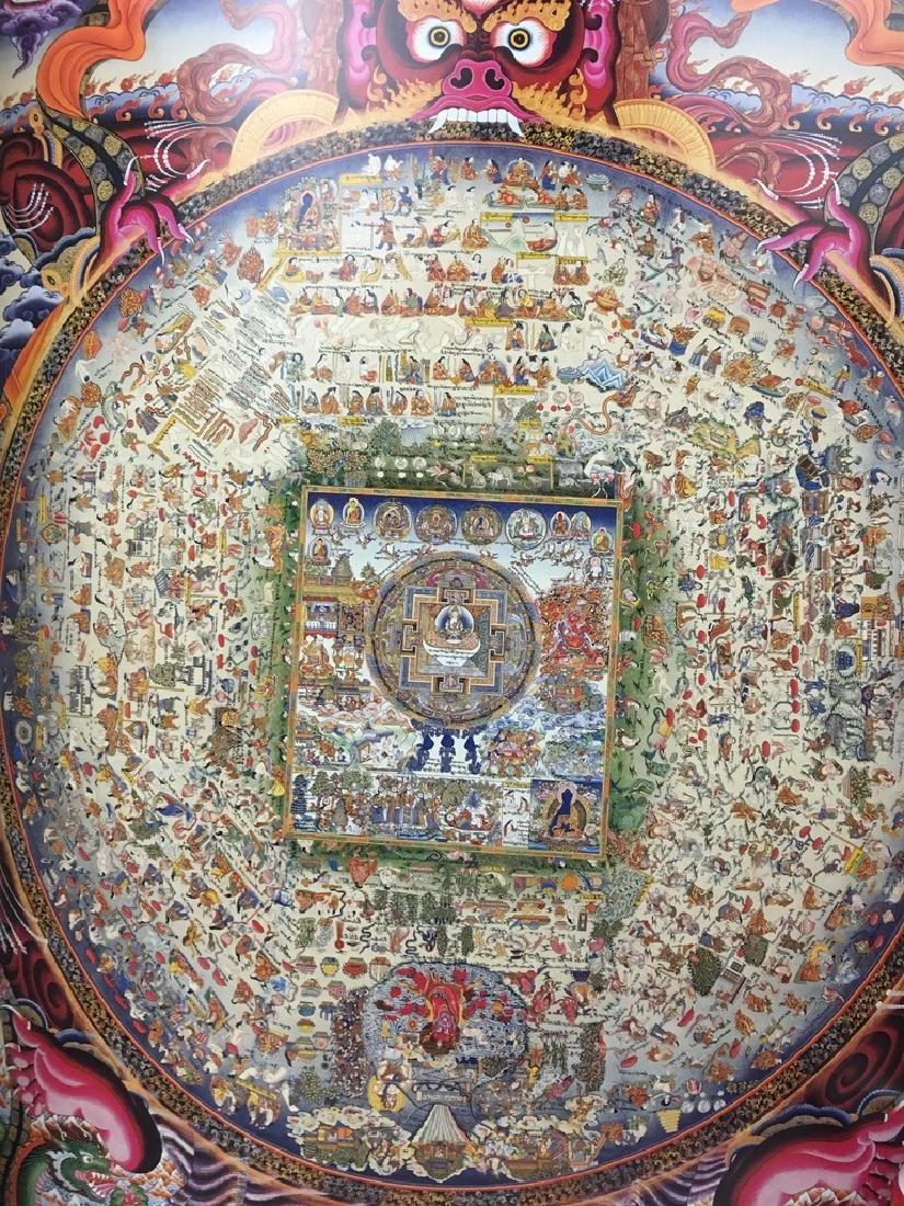 "Asian Thanka Gallery Book, 24 1/2"" x 17"" wide. 60 - 10"