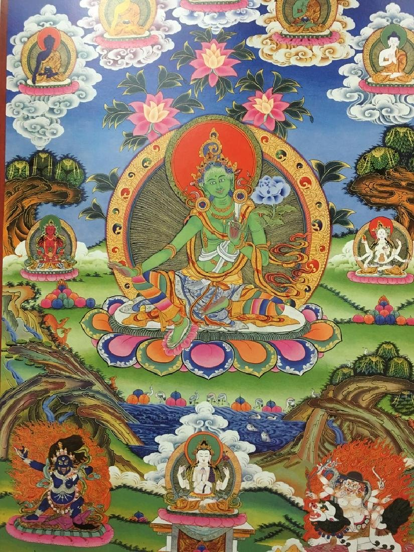 "Asian Thanka Gallery Book, 24 1/2"" x 17"" wide. 60 - 5"
