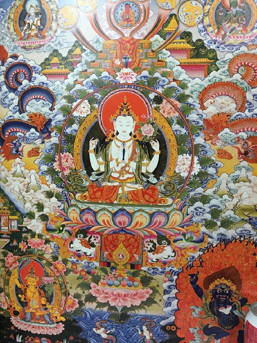"Asian Thanka Gallery Book, 24 1/2"" x 17"" wide. 60 - 6"