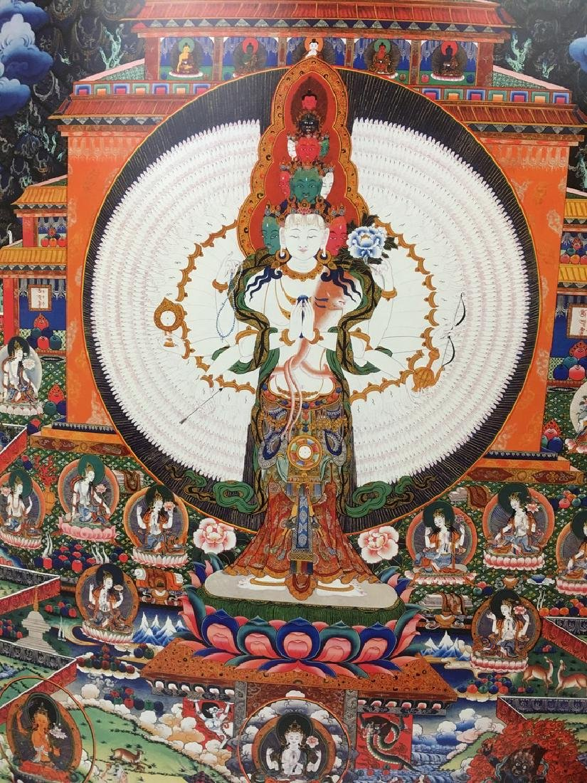 "Asian Thanka Gallery Book, 24 1/2"" x 17"" wide. 60 - 7"