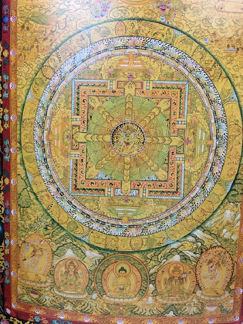 "Asian Thanka Gallery Book, 24 1/2"" x 17"" wide. 60 - 8"