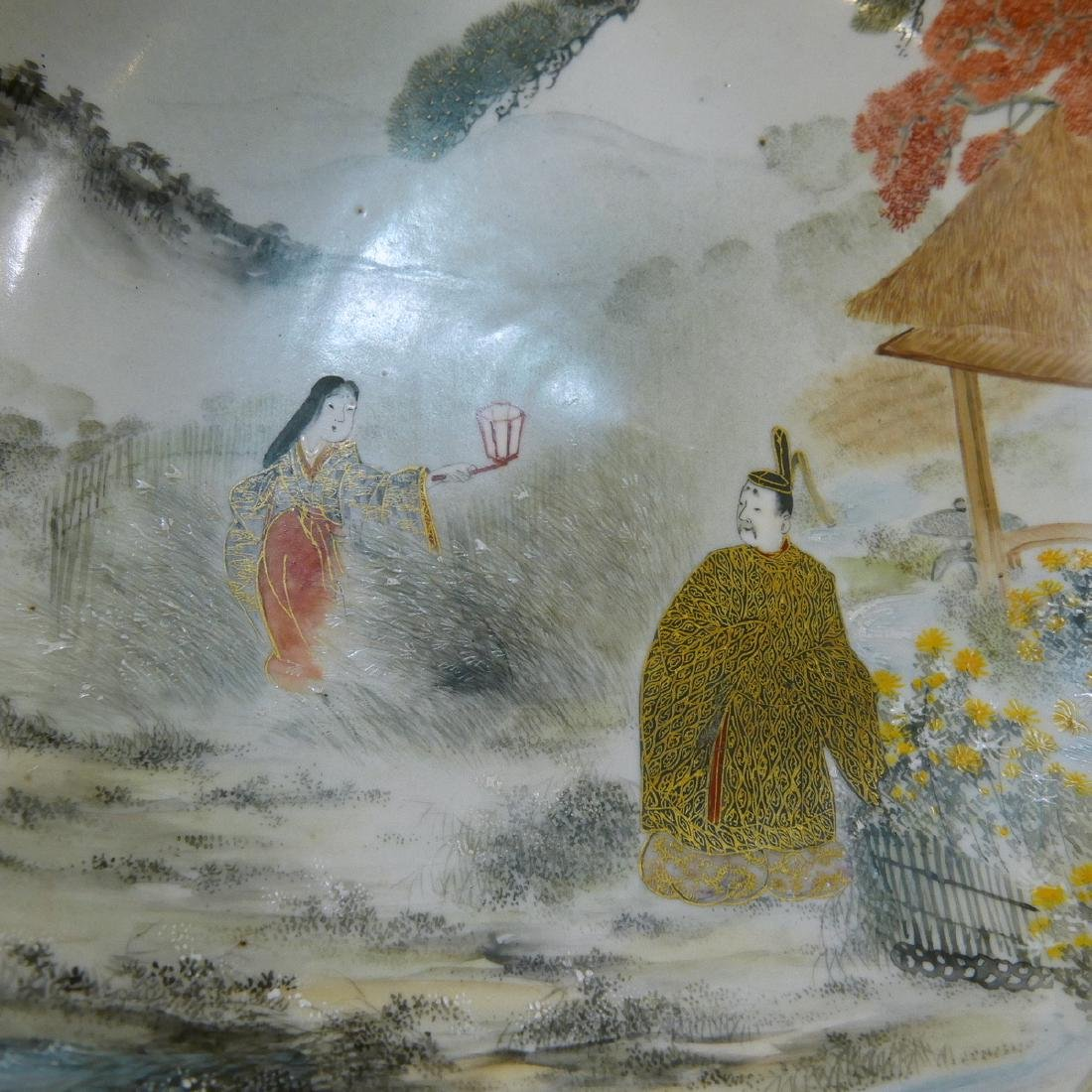 FINEST JAPANESE ANTIQUE KUTANI BOWL - MEIJI PERIOD - 2