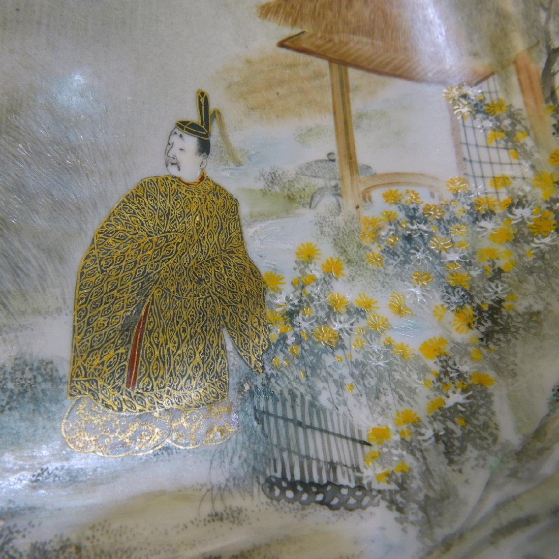 FINEST JAPANESE ANTIQUE KUTANI BOWL - MEIJI PERIOD - 4