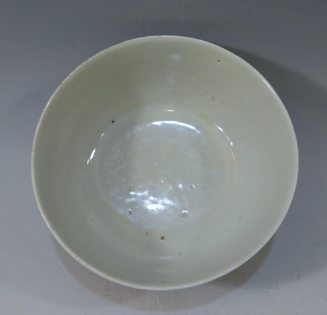 CHINESE ANTIQUE FAMILLE ROSE PORCELAIN BOWL - 19TH - 3