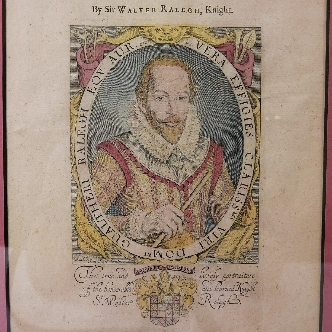 SIR WALTER RALEGH (ENGLISH, 1554 - 1618) HISTORY OF THE - 5