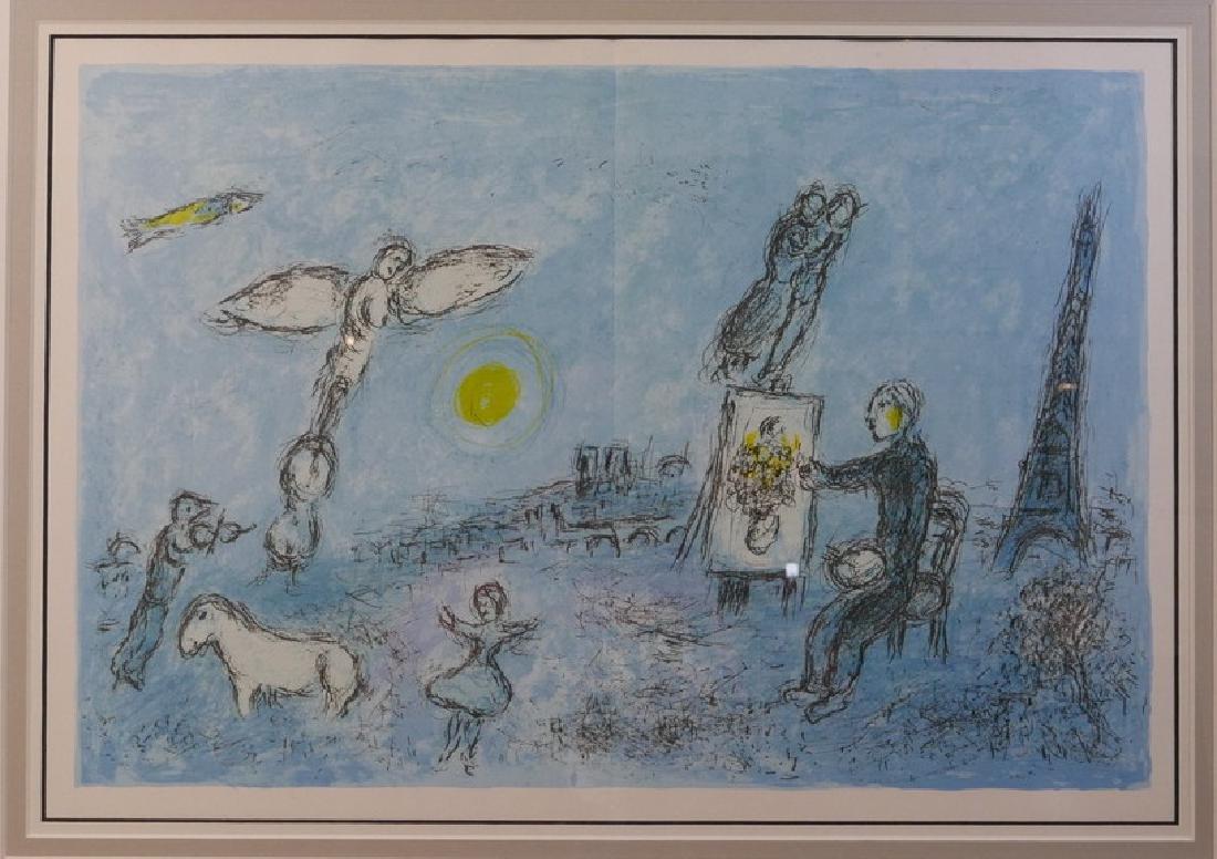 CHAGALL, MARC (1887 - 1985)  ORIGINAL LITHOGRAPH, THE