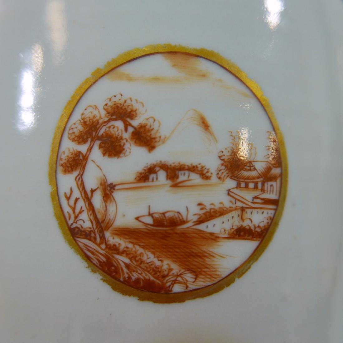 RARE ANTIQUE CHINESE PORCELAIN TEAPOT - 18TH CENTURY - 6