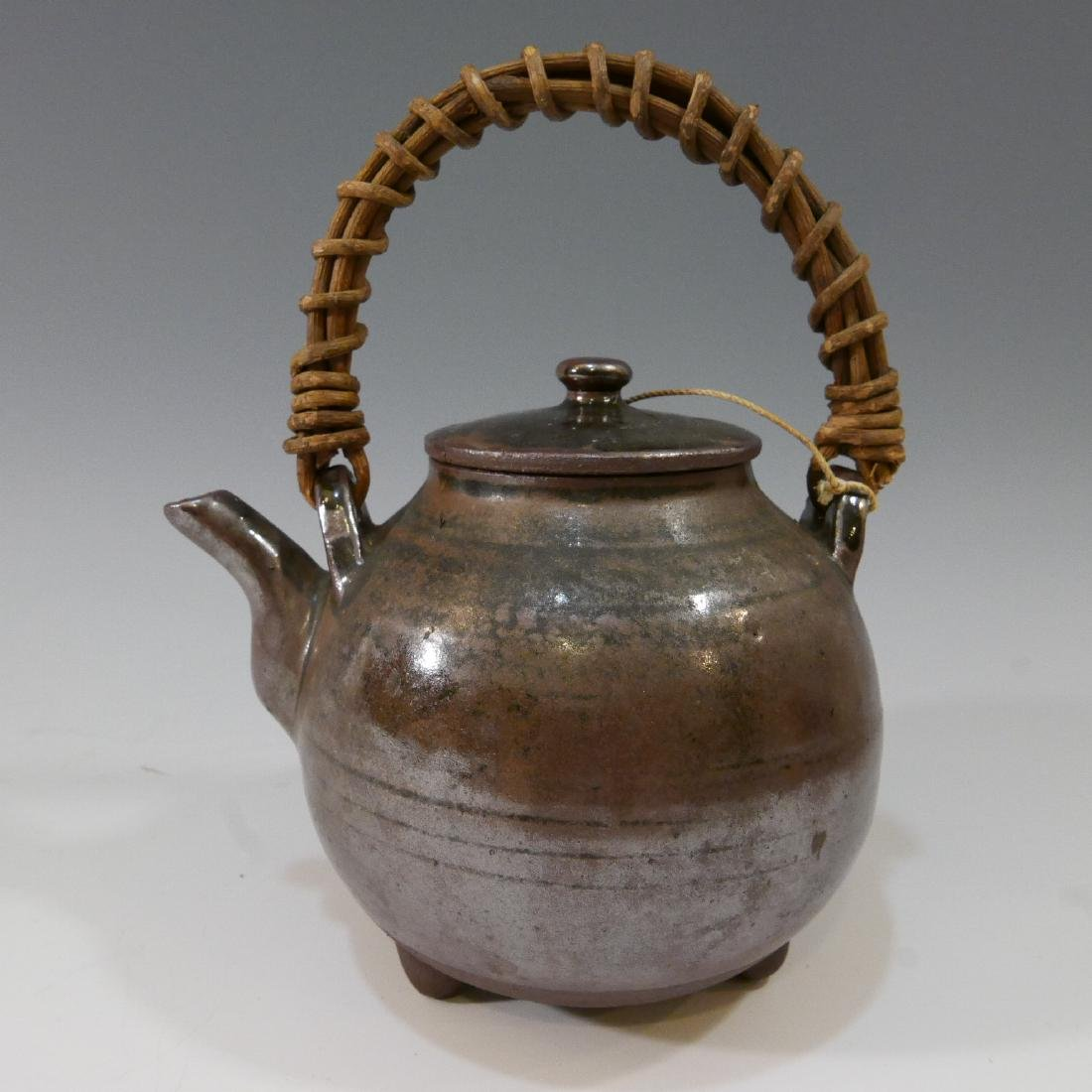 ANTIQUE CHINESE TEAPOT - MARKED