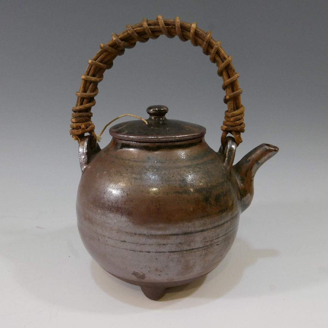 ANTIQUE CHINESE TEAPOT - MARKED - 2