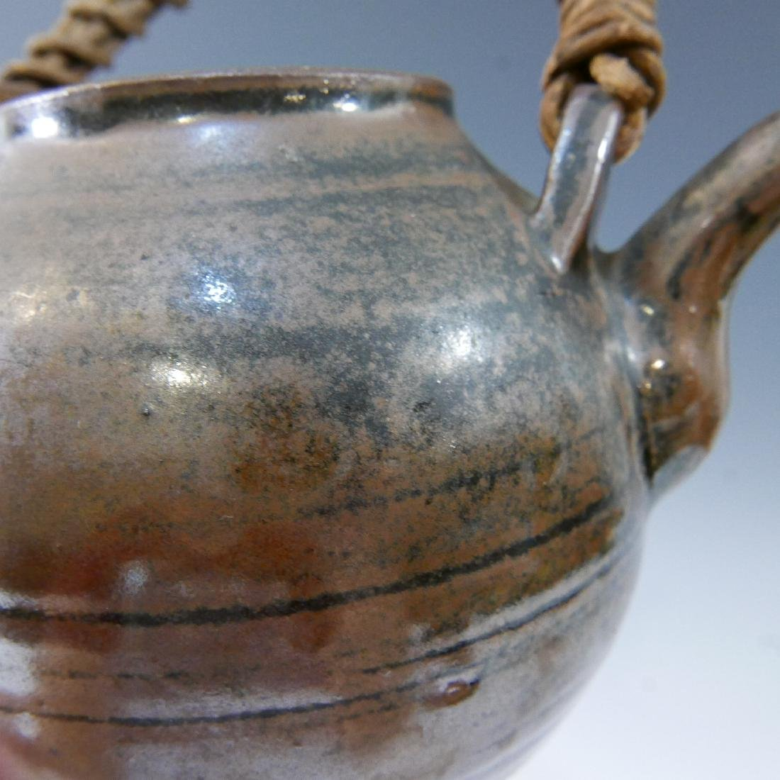 ANTIQUE CHINESE TEAPOT - MARKED - 8
