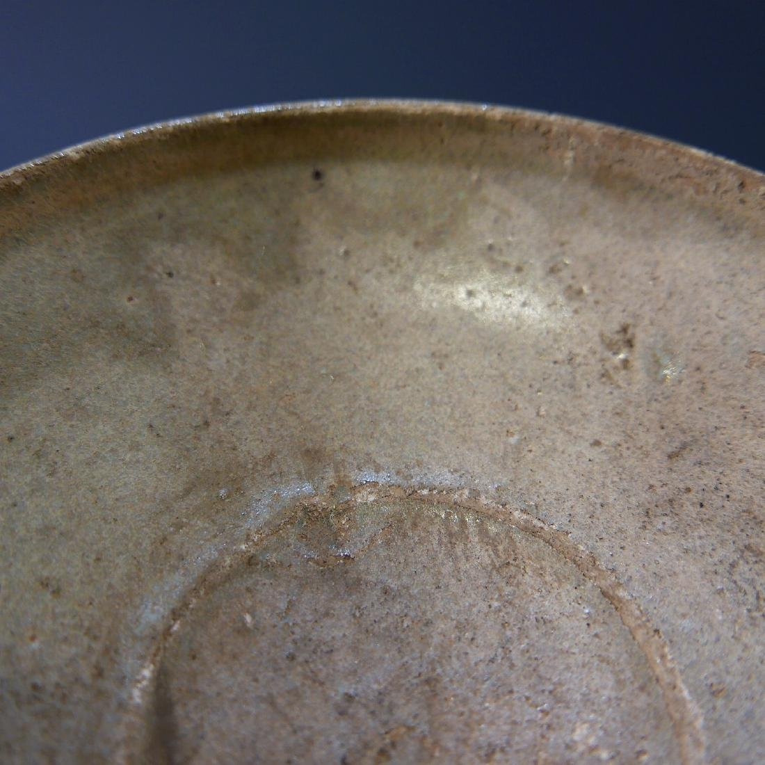CHINESE ANTIQUE SONG DYNASTY CELADON PORCELAIN BOWL - 4