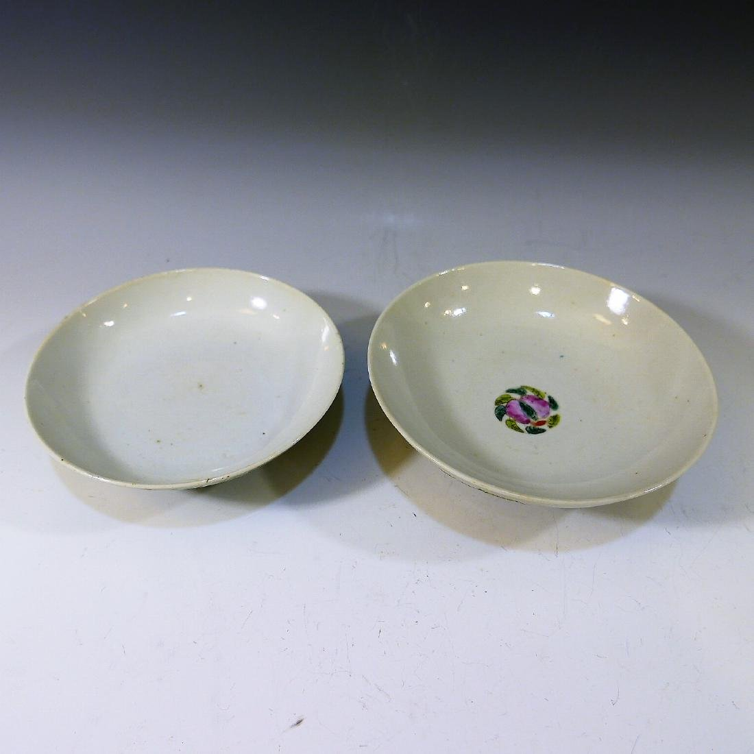 CHINESE ANTIQUE FAMILLE ROSE COVER BOWL - 4
