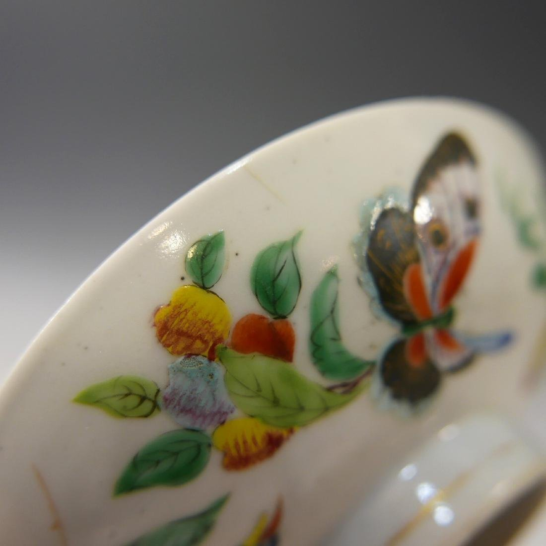 CHINESE ANTIQUE FAMILLE ROSE DISH - 4