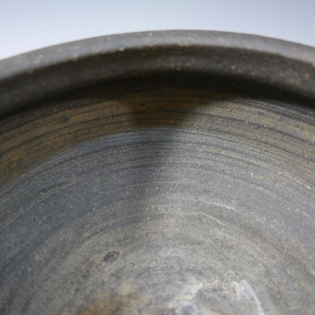 JAPANESE ANTIQUE POTTERY WATER POT - 7