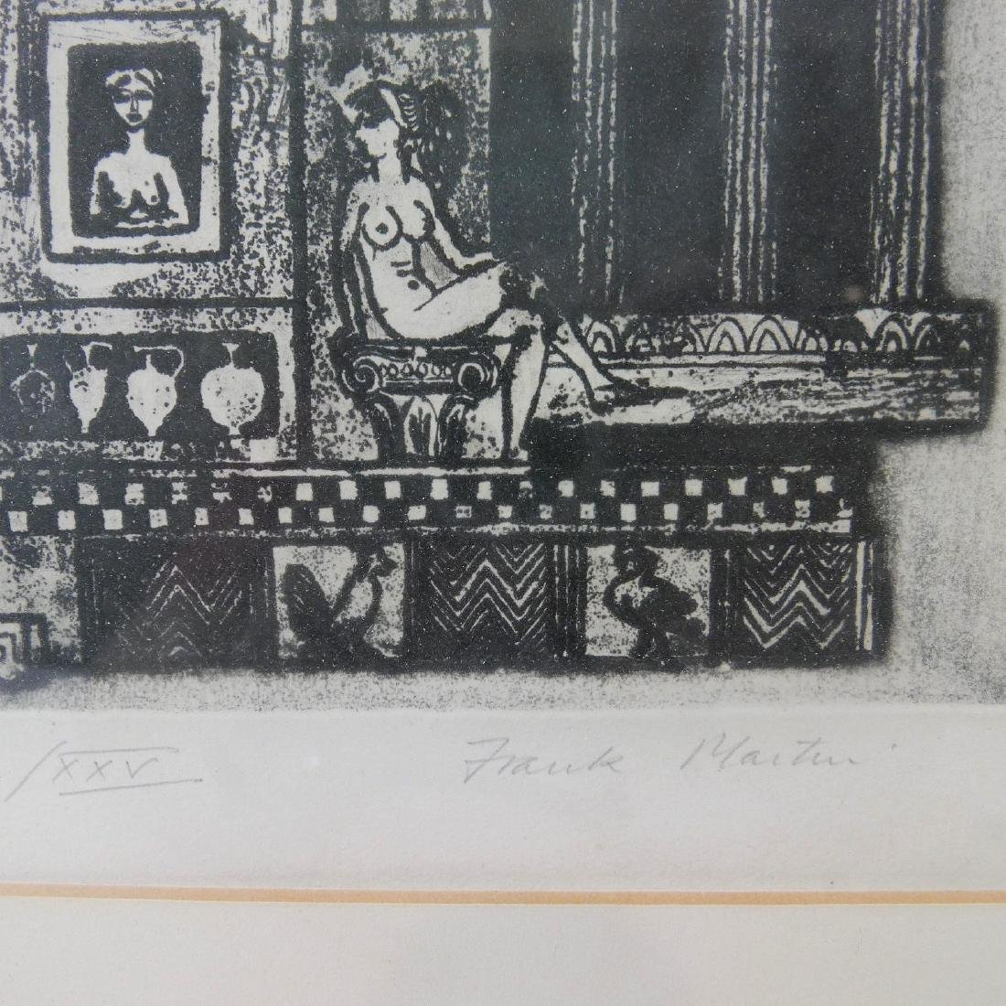"FRANK MARTIN (BRITISH B.1921), ""LYSISTRATA"" ETCHING ON - 3"
