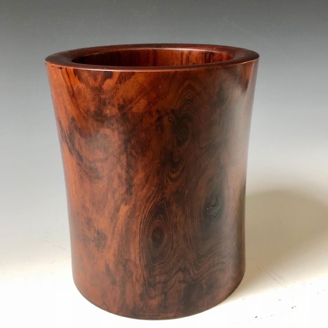 CHINESE ANTIQUE HUANHUALI  BRUSHPOT