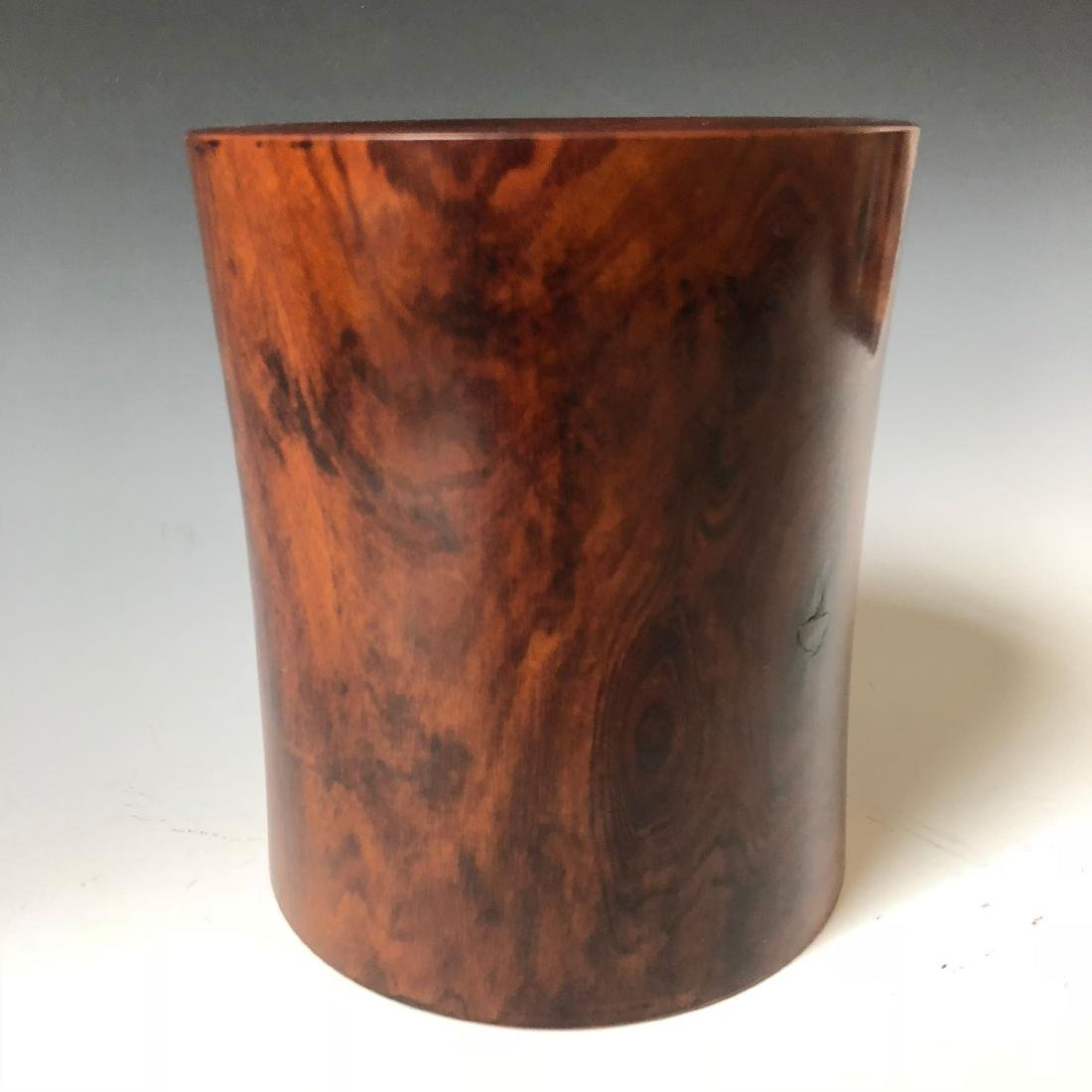 CHINESE ANTIQUE HUANHUALI  BRUSHPOT - 2