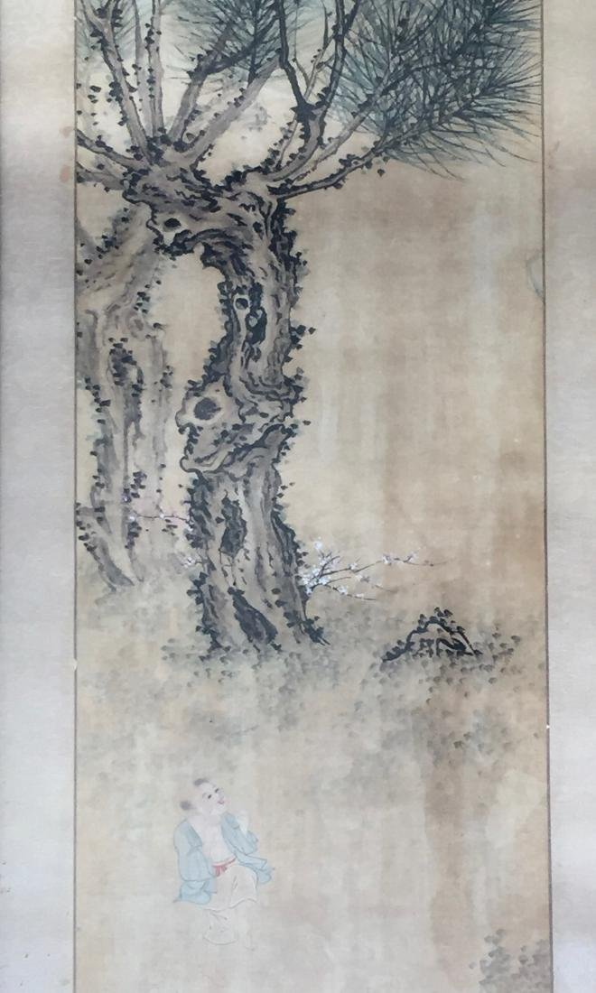 CHINESE ANTIQUE PAINTING. HAO GUANFANG SIGNATURE. - 2