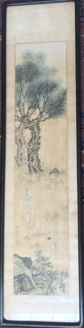 CHINESE ANTIQUE PAINTING. HAO GUANFANG SIGNATURE. - 3
