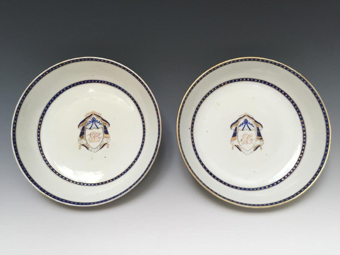 A PAIR CHINESE ANTIQUE EXPORT PLATE