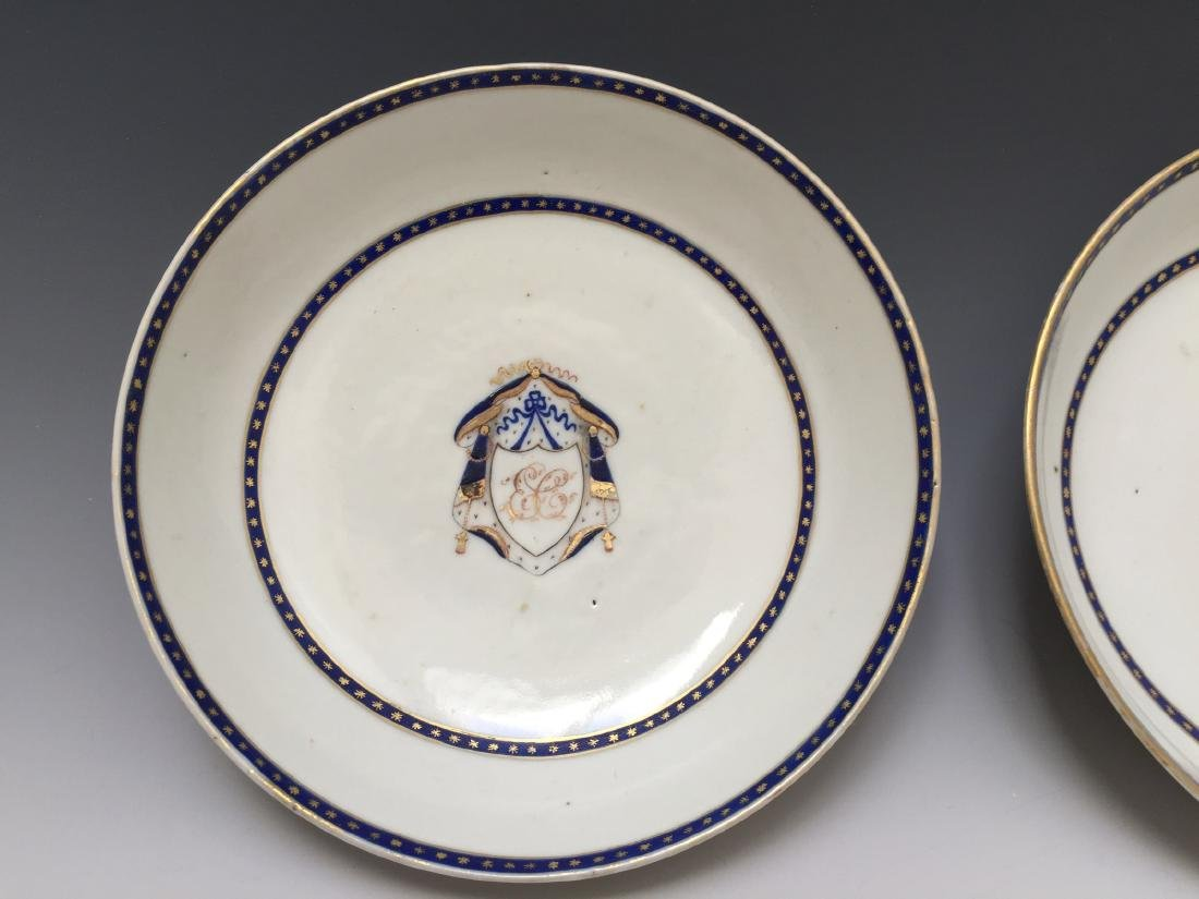 A PAIR CHINESE ANTIQUE EXPORT PLATE - 3