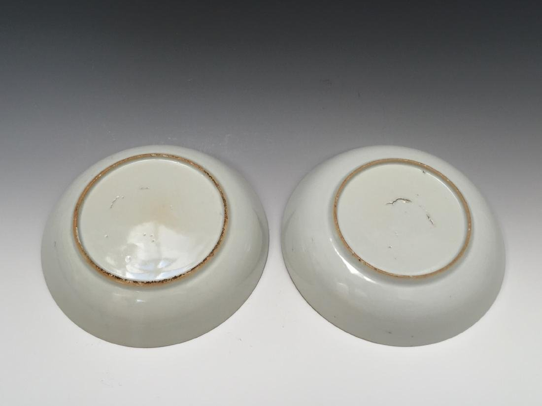 A PAIR CHINESE ANTIQUE EXPORT PLATE - 4