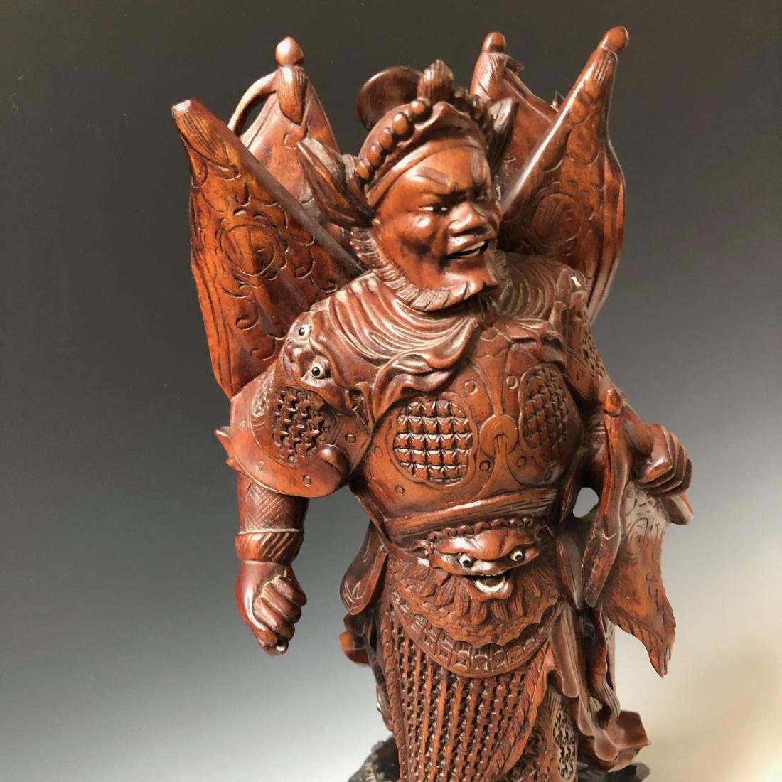 A FINE CHINESE ANTIQUE CARVING - 4