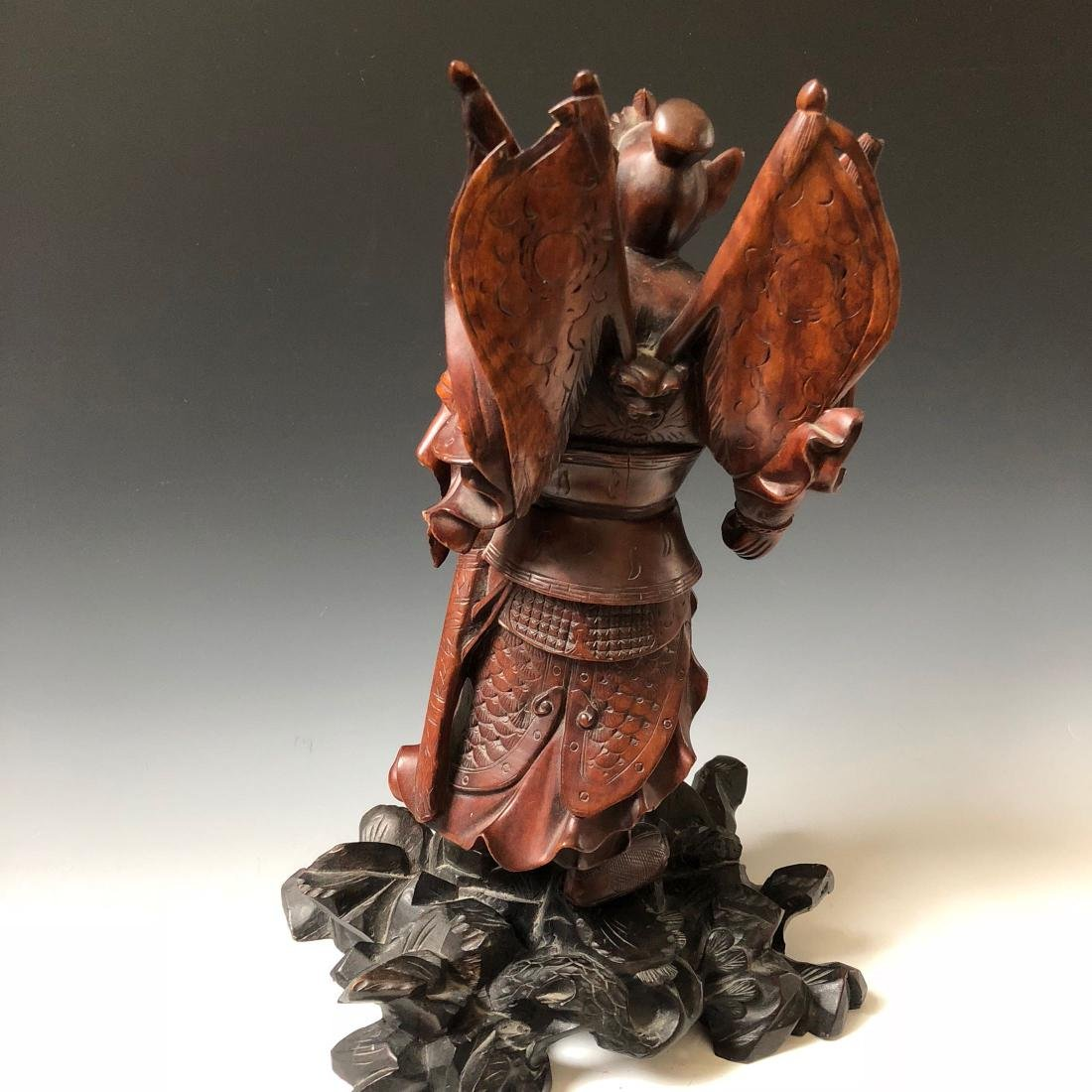 A FINE CHINESE ANTIQUE CARVING - 5