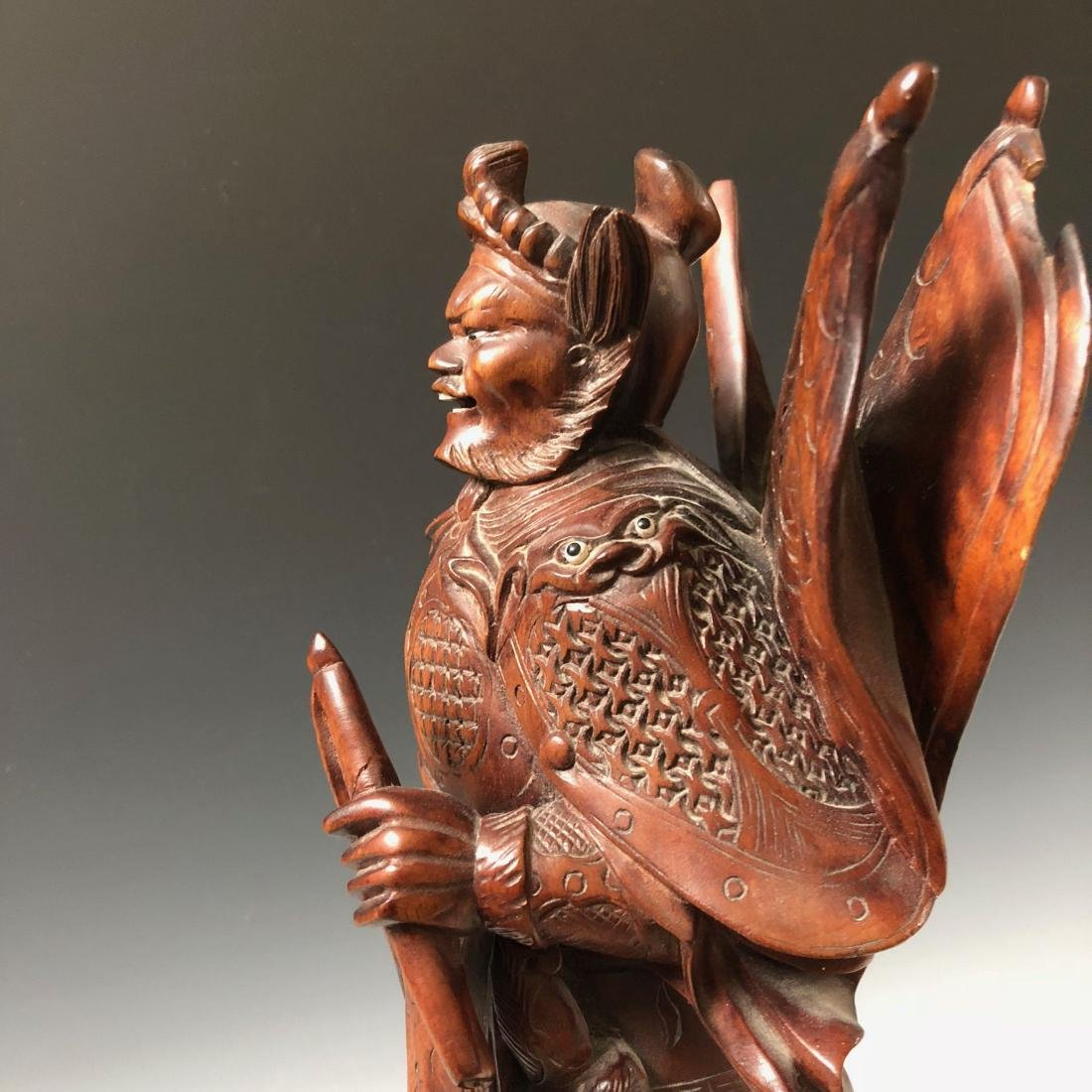 A FINE CHINESE ANTIQUE CARVING - 7