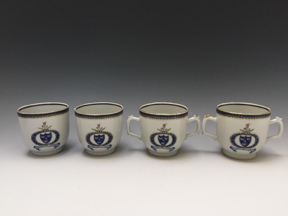 A SET OF CHINESE ANTIQUE EXPORT CUPS